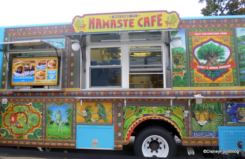 News And Review Downtown Disneys Namaste Cafe Food Truck