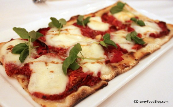 Oven Dried Tomato Flatbread at California Grill