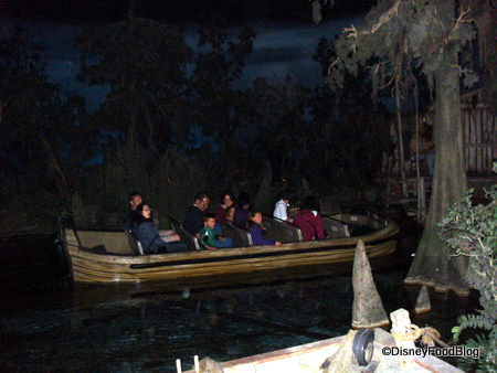 Pirates of the Caribbean Boat as seen in The Blue Bayou