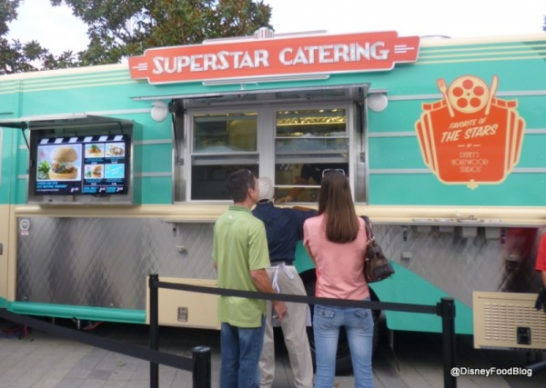 Time to line-up at Superstar Catering