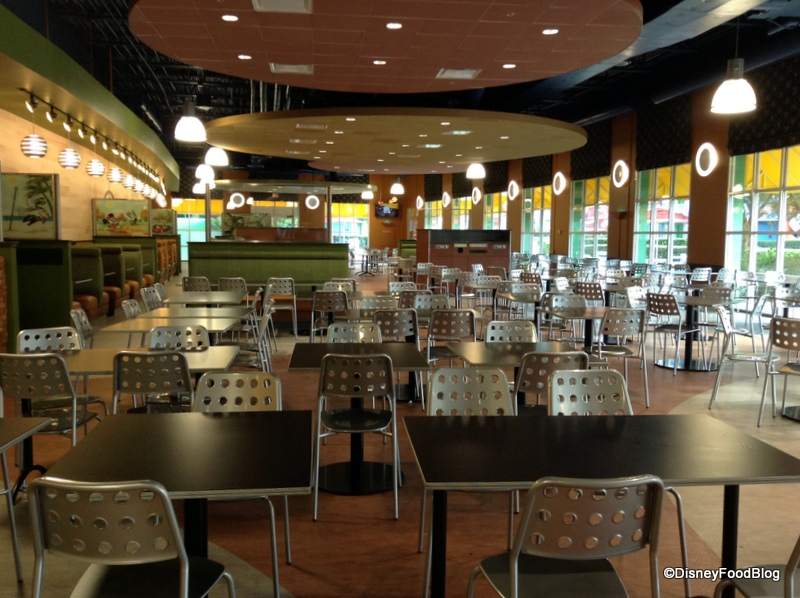 All Star Music Resort Food Court Menu