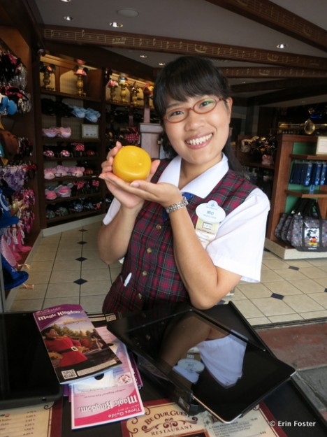 Guests Testing the FastPass Option for Lunch  at Be Our Guest Receive a Yellow Rose at Check In