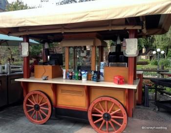 Canada Pavilion Popcorn Cart Epcot