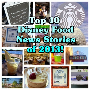 Disney food news stories of 2013