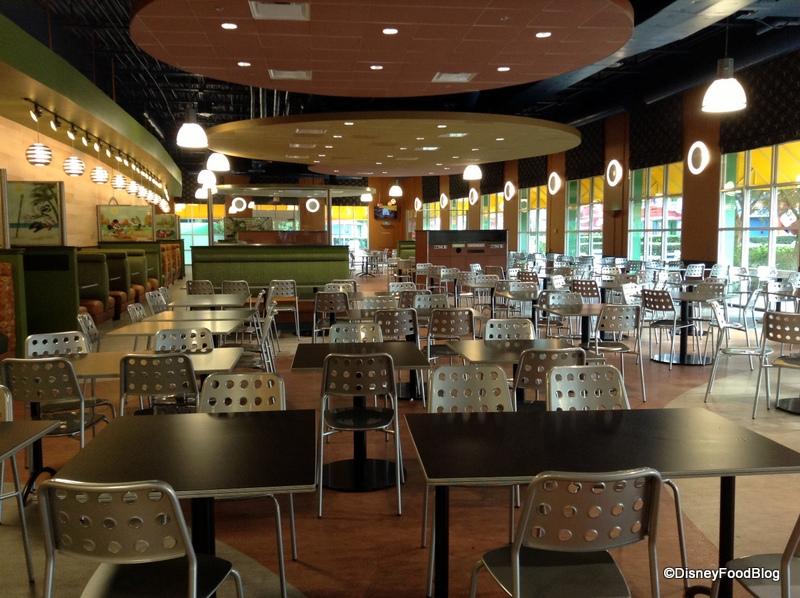 All Star Sports Food Court Refurbishment