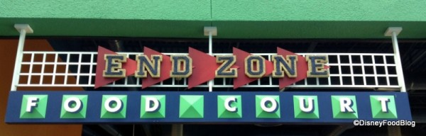 End Zone Food Court Entrance