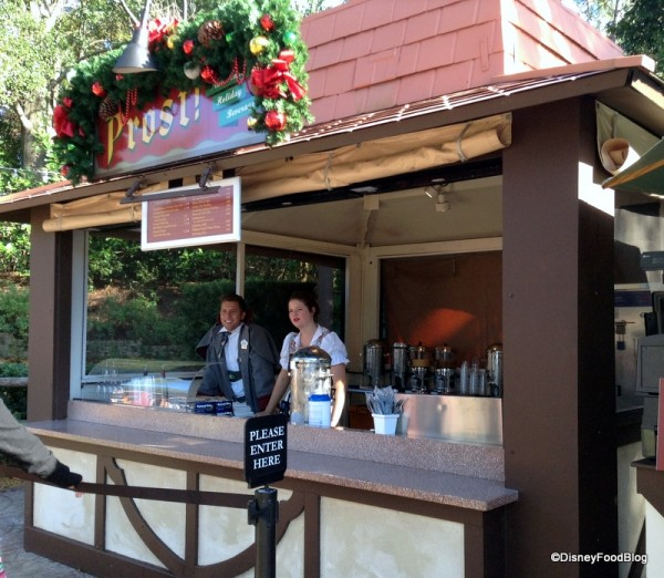 Prost! Holiday Drinks Stand