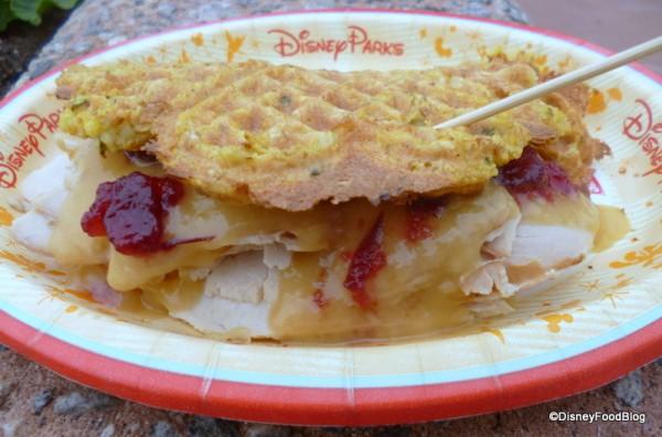 Savory Seasonal Waffle from 2013