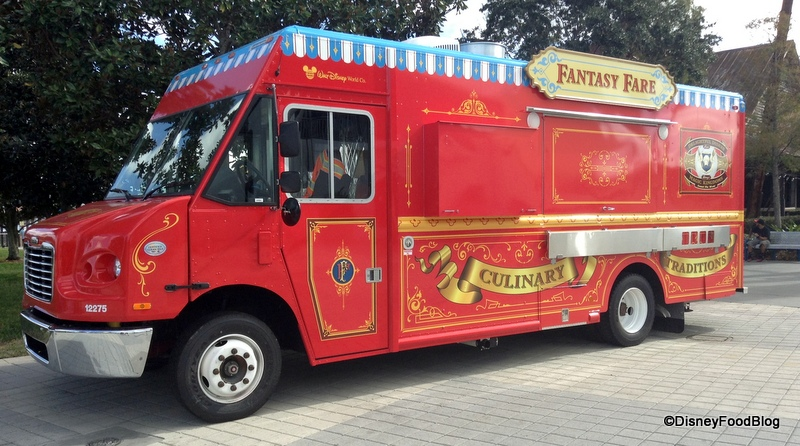 Review: Fantasy Fare Food Truck Brings Hand Dipped Corn Dogs To Downtown  Disney!