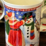 Spotted: Unique Holiday Mugs at Disney World Starbucks