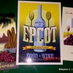 Menu! World Showcase of Flavors Food Truck in Disney World's Downtown Disney