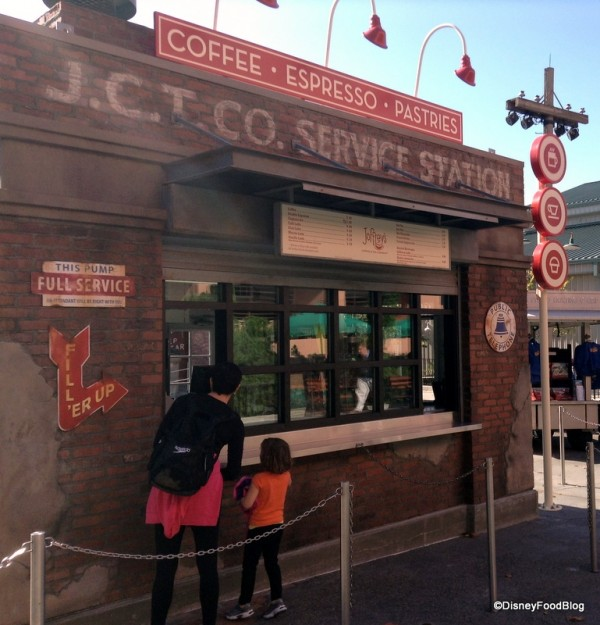 Streets of America Kiosk