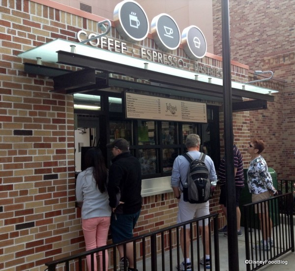 Joffrey's Coffee Kiosk at Pixar Place