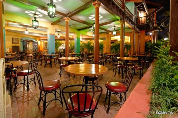 Seating at Tortuga