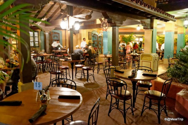 Dining Area at Tortuga Tavern