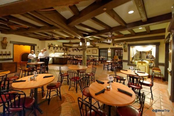 Indoor Seating at Tortuga Tavern