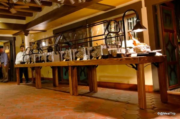 Buffet Area at Tortuga
