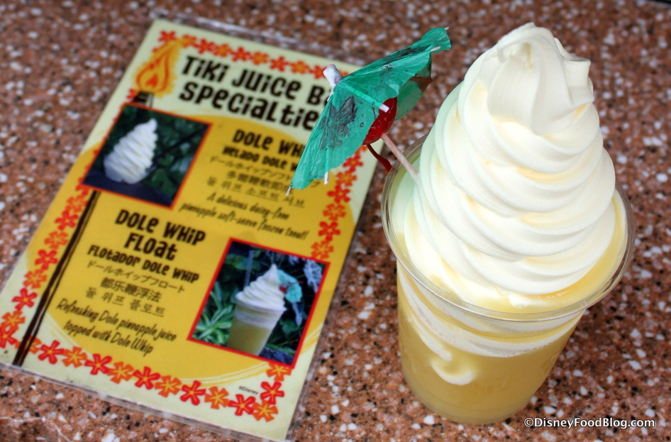 Review: Tiki Juice Bar (and Dole Whip!) in Disneyland ...