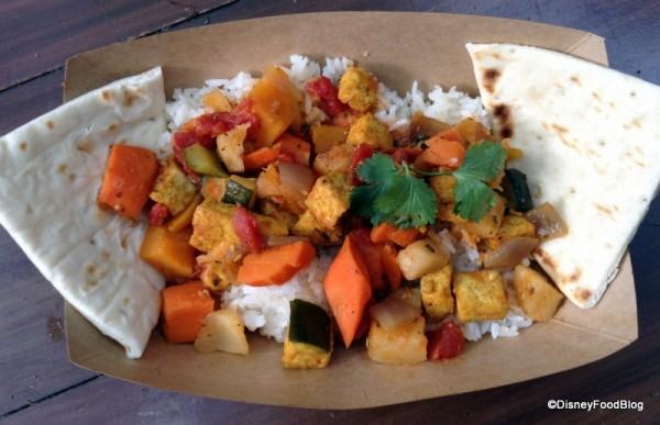Tamu Tamu Vegetarian Curry
