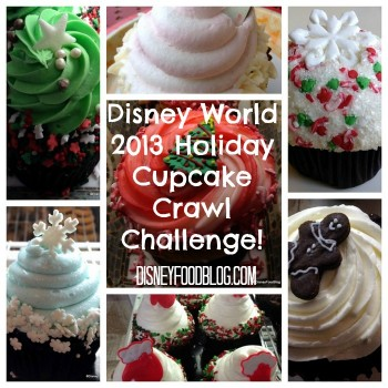Holiday Cupcakes in Disney World
