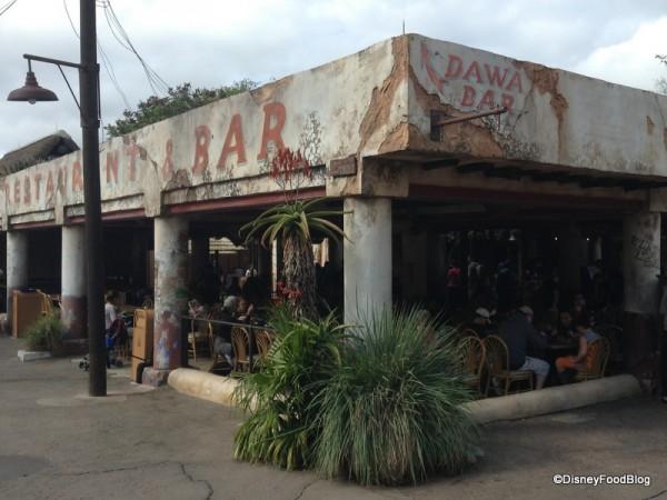 Tusker House Restaurant and Dawa Bar in Harambe Village