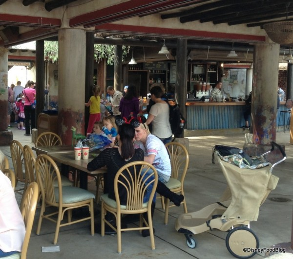 Dawa Bar Seating Area with new location back left