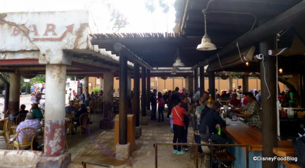 New location of the Dawa Bar