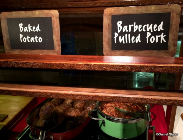 Baked Potato and Barbecued Pulled Pork