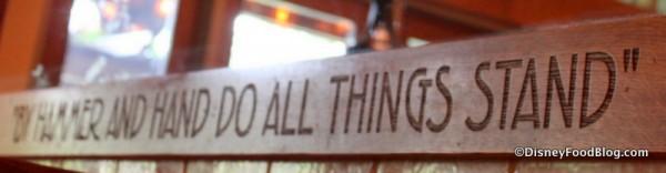 Blacksmith Motto