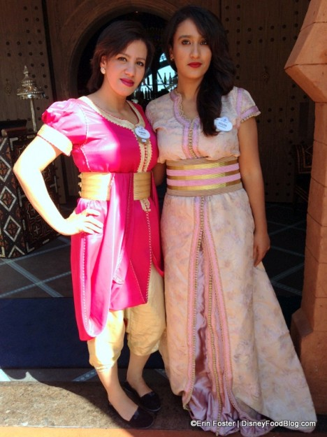 Cast Member costumes at Spice Road Table