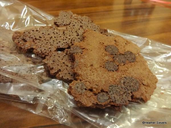 Brownie Brittle Close Up