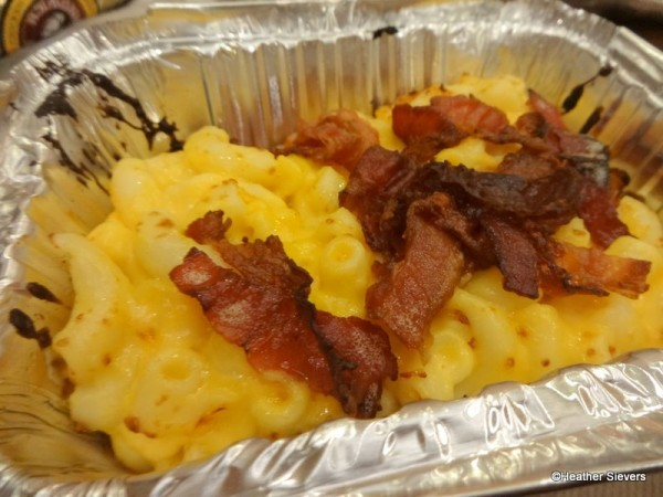 Bacon Mac n' Cheese or Mac n' Cheese Topped with Bacon? You decide.