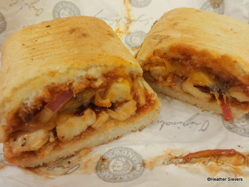 recipe: earl of sandwich bbq chicken flatbread [1]