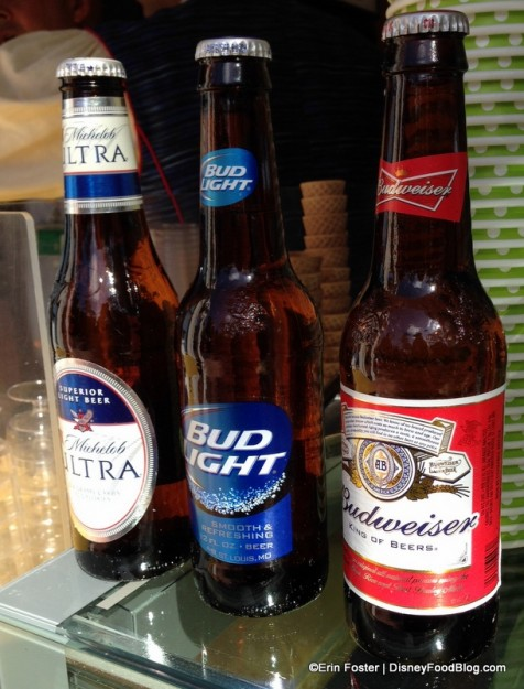 Domestic Beers at Spice Road Table