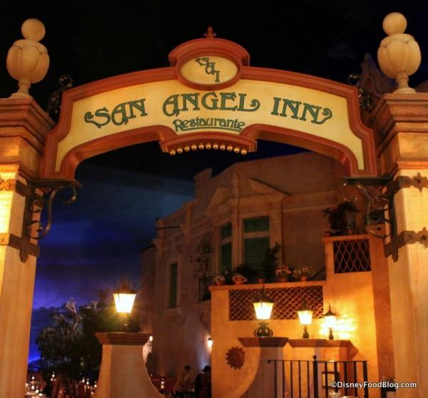 San Angel Restaurant Entrance