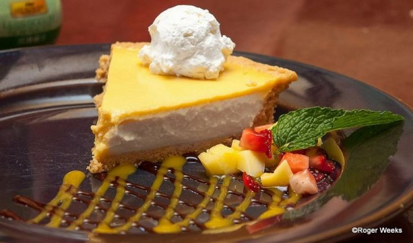 Mango Pie at Yak n Yeti Restaurant