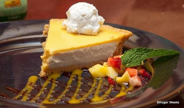 Mango Pie at Yak n Yeti Restaurant