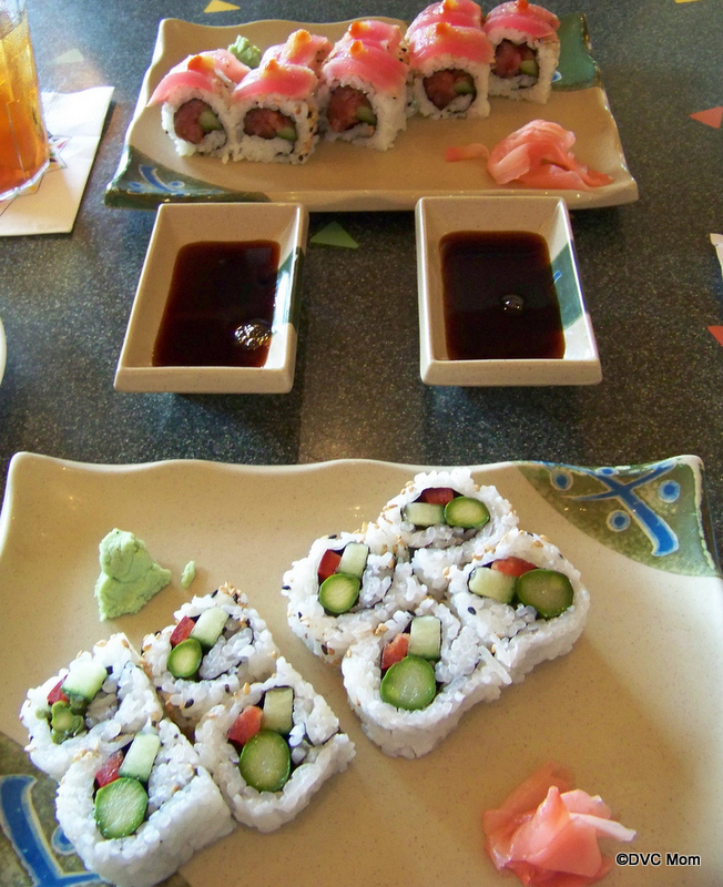 Disney Food Pics of the Week: Sushi!