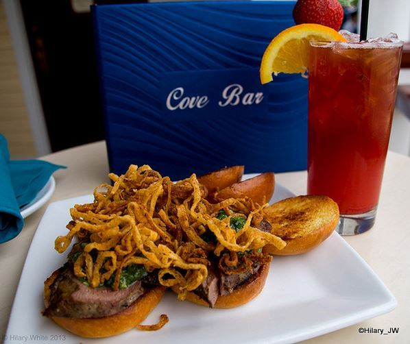 Tri-Tip Sliders from Cove Bar