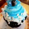"Review: Frost ""Frozen"" Cupcake at Disney's Contempo Cafe"