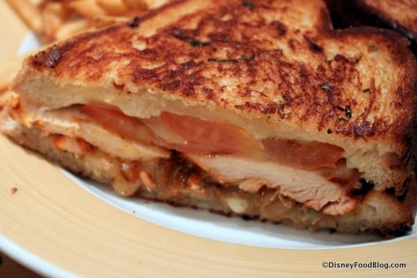 Grilled Chicken Sandwich -- Up Close