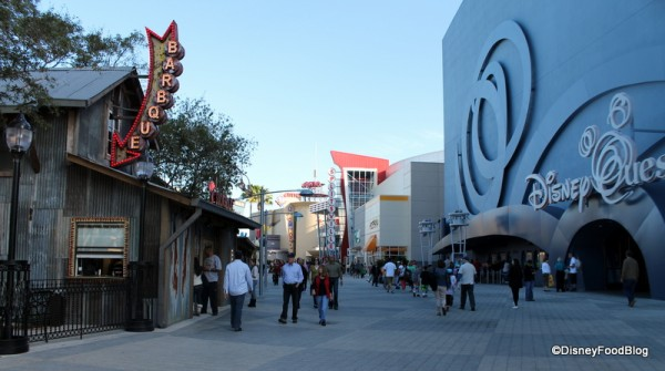 The Smokehouse across from Disney Quest