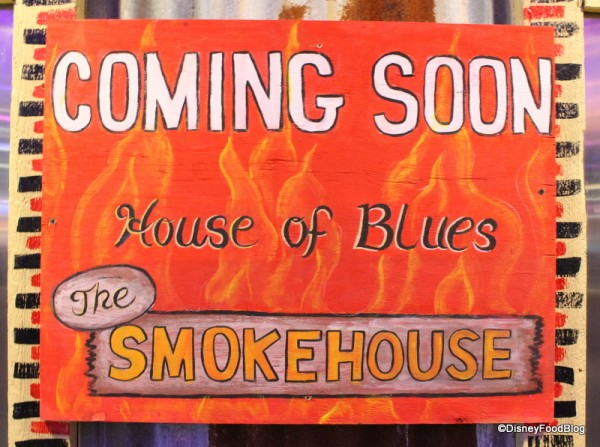 The Smokehouse is Coming Soon!