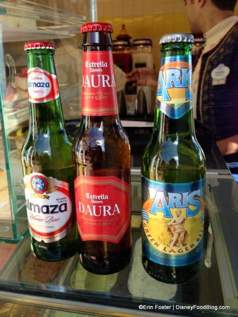 Imported Beers at Spice Road Table