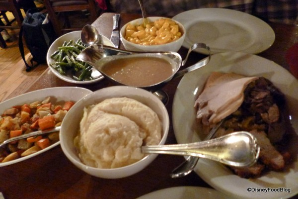 Thanksgiving Dinner served all year long at Liberty Tree Tavern