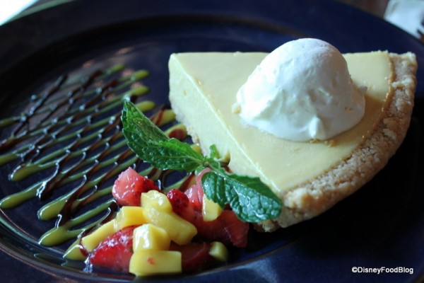 Mango Pie from the Yak & Yeti Restaurant in Disney's Animal Kingdom