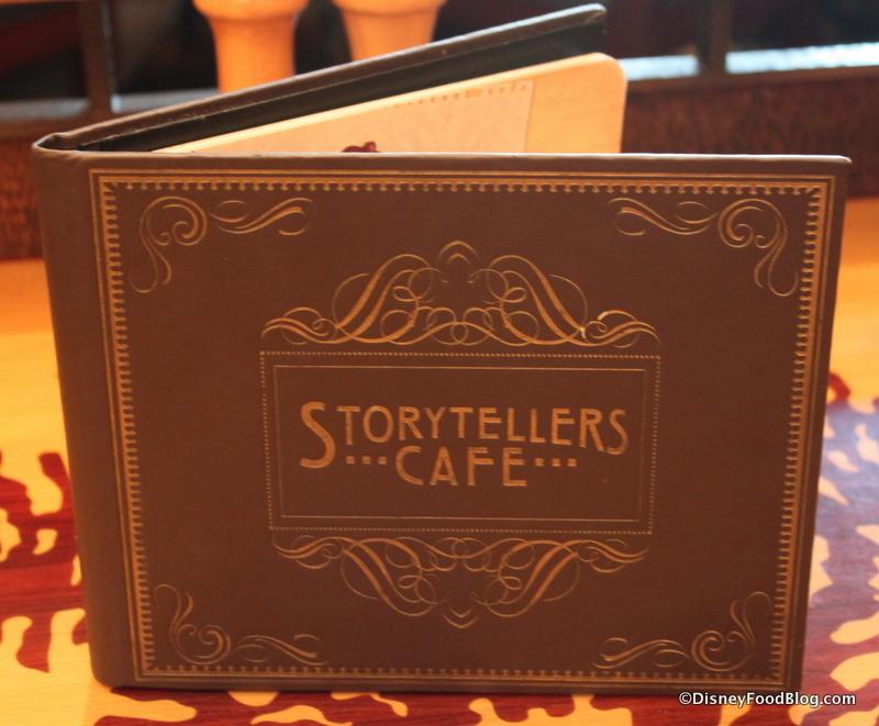 Storytellers Cafe Buffet Menu
