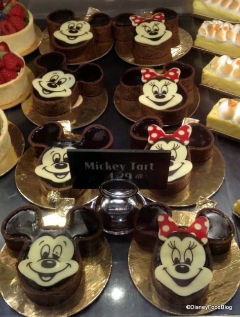 Mickey and Minnie Chocolate Tarts