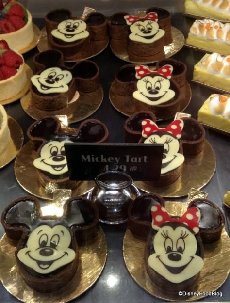 Mickey and Minnie Chocolate Tarts