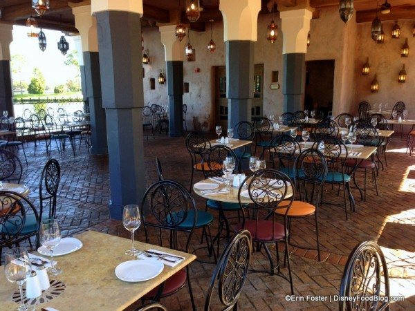 Outdoor Seating at Spice Road Table